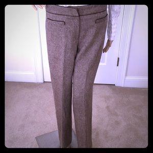 Wool blend dress pants